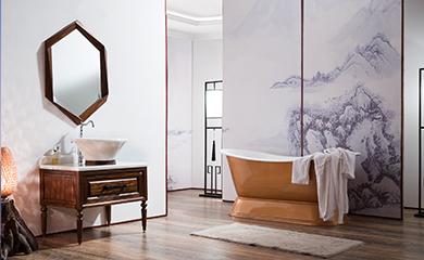 "TREE AND ELEPHANT以""木""为核心,布局地板、木门、浴室柜 、家具等多个木作品类。"